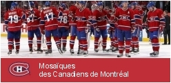 Mosaics of Montreal Canadiens