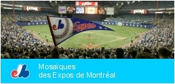 Mosaics of Montreal Expos